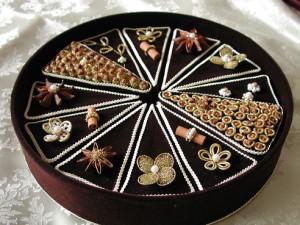 木の実とスパイスのクラフト・チョコレートケーキ