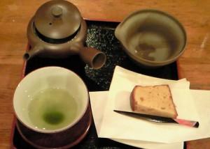 日本茶カフェ 「ちゃみせ 茶るん」お茶セット
