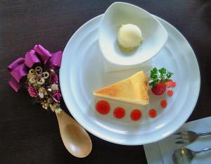 ふじゅうさんの1月のケーキ