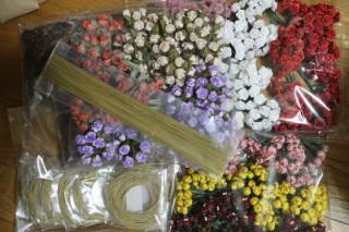 花材が届きました