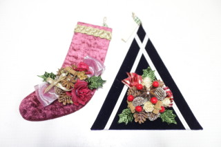 クリスマスツリー&ブーツ