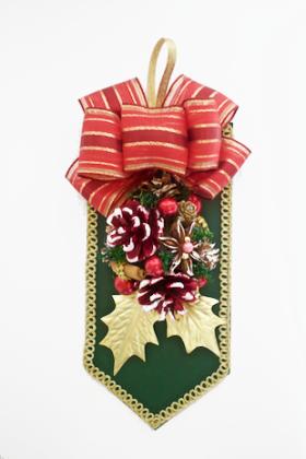 緑のクリスマスドロップ