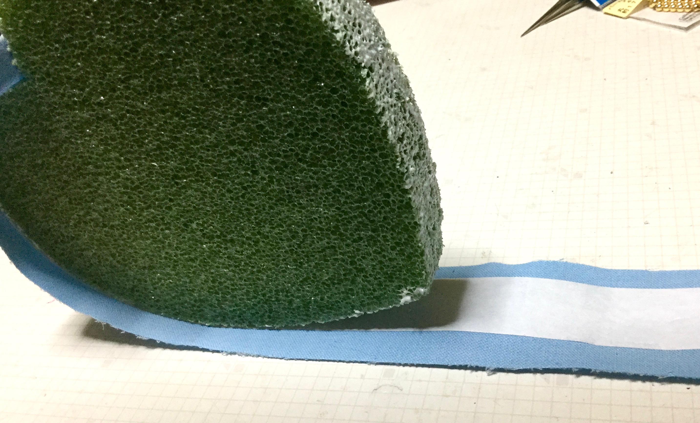 ハートの壁飾り制作1