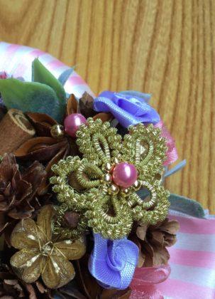 ブリヨン巻の花