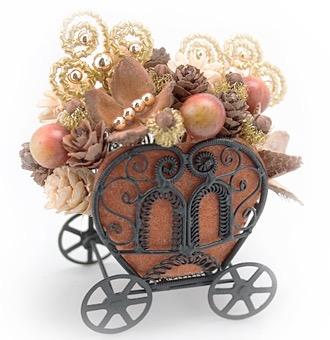 ハロウィンかぼちゃの馬車